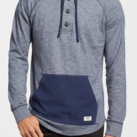 Men's Vans 'Lindero' Trim Fit Colorblock Raglan Pullover Hoodie