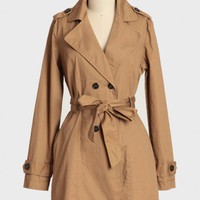 avenue stroll trench coat by Tulle at ShopRuche.com
