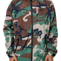 The 10K Tech Jacket in Woodland Camo