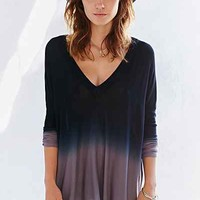 Pins And Needles Dip-Dye Tent Top-