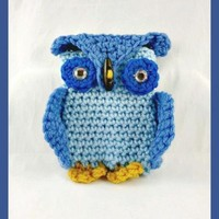 Owl Cell Phone Case, Android Phone Cover, Blue Iphone Case