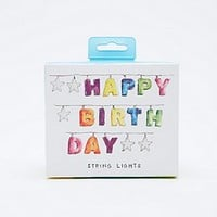 Happy Birthday String Lights - Urban Outfitters