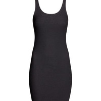 H&M - Ribbed Jersey Dress