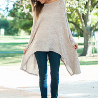 Fall Back Tunic, Taupe