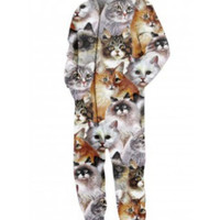 Stupid Cats Onesuit - M/L