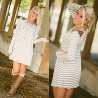 Break Free Tunic (Grey) - Piace Boutique