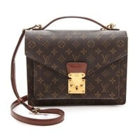 What Goes Around Comes Around Louis Vuitton Monogram Monceau Bag