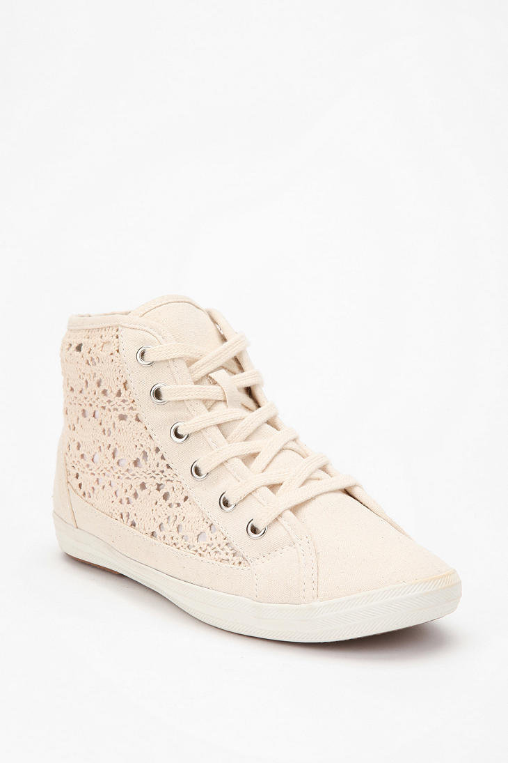 UO Crocheted High-Top Sneaker