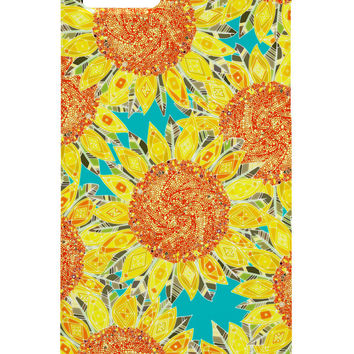 Sharon Turner Sunflower Field Cell Phone Case ~ get 10% off with code: sharonturner