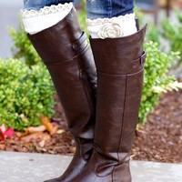 A Day At The Races Tall Riding Boot (Brown)