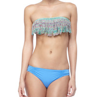 Dolly Fringe Bandeau Bikini Top & Assorted Swim Bottoms