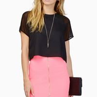 Dress To Impress Neon Skirt with Front Zipper