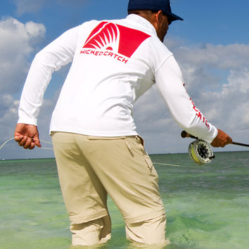 Tailing Red II PTP Fishing Shirt - W/R