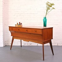 Winter's Moon ? Vintage 50's Console by Alfred Cox for Heals