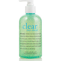 clear days ahead | oil-free salicylic acid acne treatment cleanser | philosophy