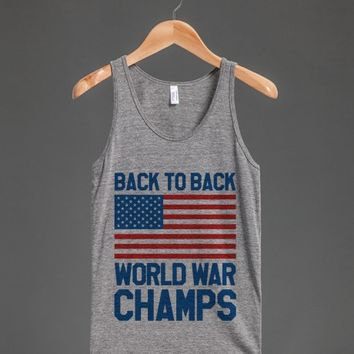 Back To Back World War Champs Tank Top (Id6082025)  