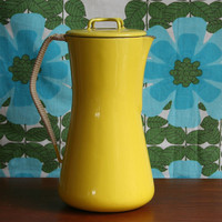 Winter's Moon ? Vintage Yellow Dansk Jug - SOLD