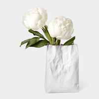 Crinkle Bag Vase