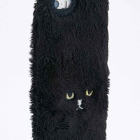 Keora Keora Furry Cat iPhone 5 Case in Black - Urban Outfitters