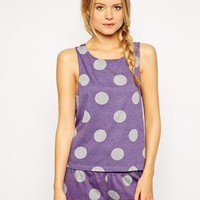ASOS Polka Dot Tank & Short Set