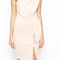 ASOS PETITE Origami Bow Pencil Dress