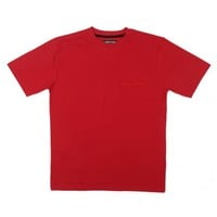 Buy Red Solid Relaxed Fit Lounge Top Online | Loungewear Tops for Men | Men's Loungewear T-Shirts