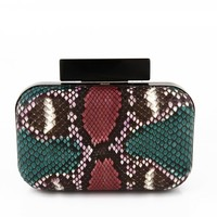 Clutch - Black Stub - Green by Bali Tomali