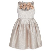 Sleeveless Champagne Dress