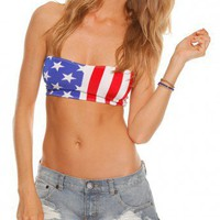 Our Prince of Peace Springsteen Bandeau Top