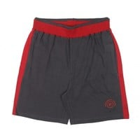 Buy Navy with Red Solid Relaxed Fit Shorts Online | Loungewear Bottoms for Men | Men's Loungewear Shorts, Tracks & Pants