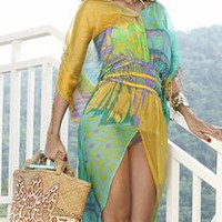 Caffe Swimwear - Caffe Cover Up VB1104,Cacique Boutique