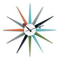 vega clock - a modern, contemporary clock from chiasso