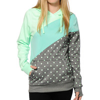 Empyre Frostier Polka Dot Tech Fleece Hoodie