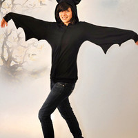 BAT Hoodie Jacket - Made To Order