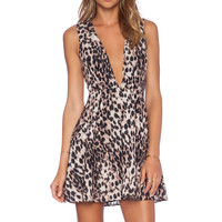 NBD x Naven See No Evil Dress in Leopard
