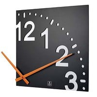 INFINITY WOODEN WALL CLOCK | Modern Design Sectional Clock Uses Wall As Face | UncommonGoods