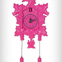 Pink Wall Mount Cuckoo Clock | PLASTICLAND