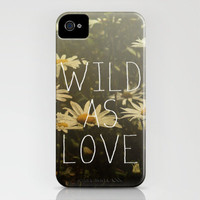 Wild As Love  iPhone Case by Galaxy Eyes | Society6