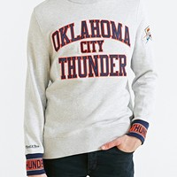 Mitchell & Ness Oklahoma City Thunder Team Sweatshirt - Urban Outfitters