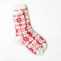 AEO Women's Fair Isle Crew Sock