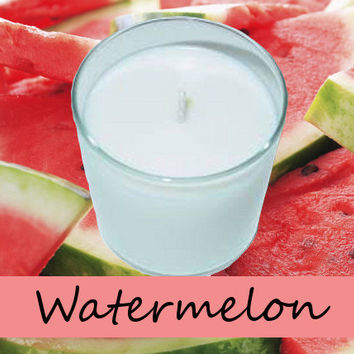Watermelon Scented Candle in Tumbler 13 oz