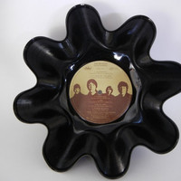 THE BEATLES Recycled Record Bowl (Love Songs)