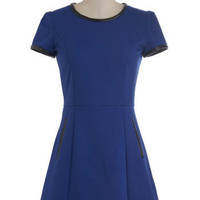 Bolt from the Blue Dress | Mod Retro Vintage Dresses | ModCloth.com