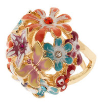 Who Sent Flowers Ring | Mod Retro Vintage Rings | ModCloth.com