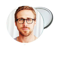 Mirror - Ryan Gosling with Glasses