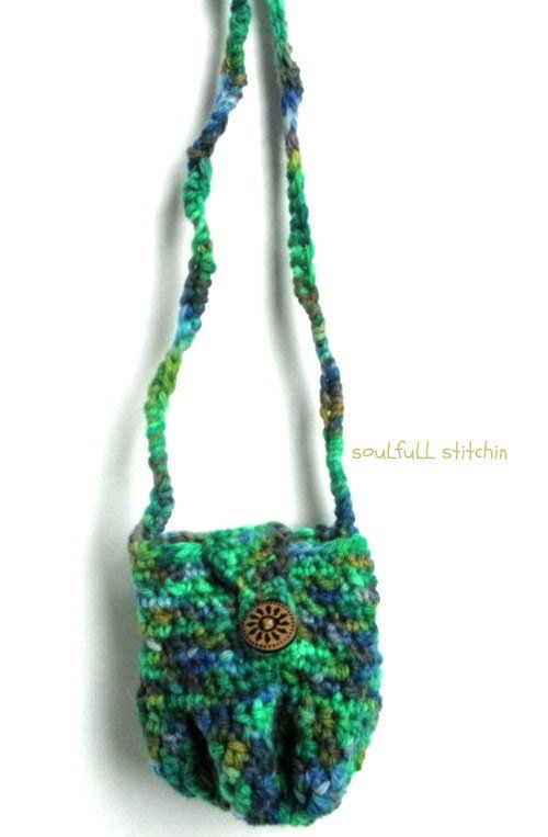 Ladies Mini Purse Crochet Medicine Bag from ...