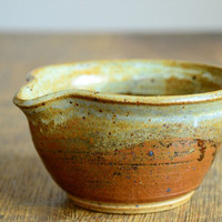 Vintage Studio Pottery Sauce Dish
