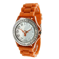 333866-8028D-University of Texas Collegiate Watch-$38.99