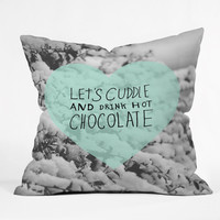 """Allyson Johnson Winter Time Love Throw Pillow - Indoor / 26"""" x 26"""" / Pillow Cover Only"""