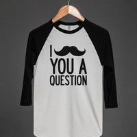 I Mustache You a Question (Two-Sided Tank)